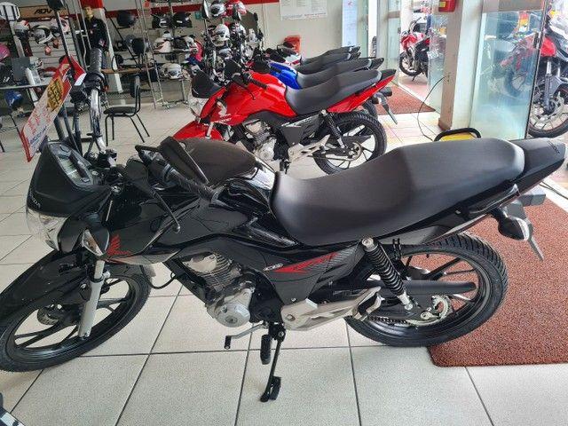 Moto Honda Fan 160 Financiada Entrada: 1.000 Autônomo e Assalariado!!! - Foto 6