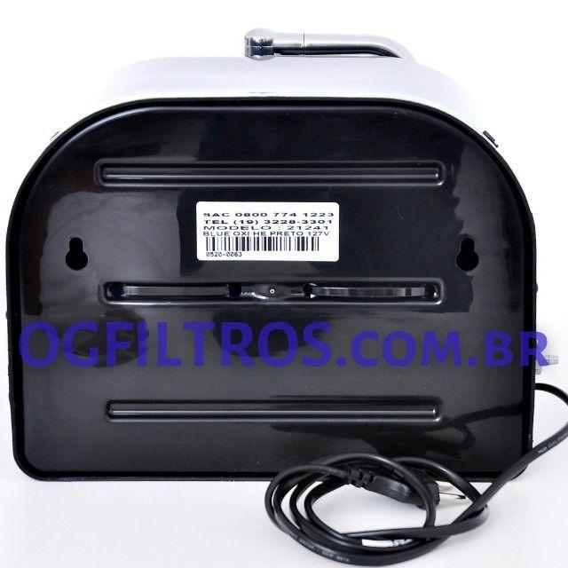 Purificador de água BlueOxi não gela, ioniza, alcaliniza e libera ozônio - Foto 6