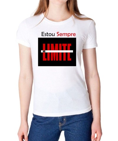Camisa estou sem no Limite - Foto 3