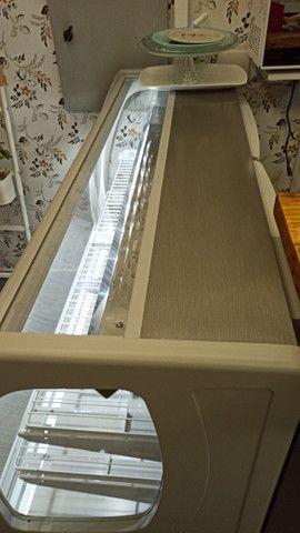 Seminova garantia até Nov/21!!! Estufa vitrine refrigerada confeitaria Star Plus Gelopar - Foto 4