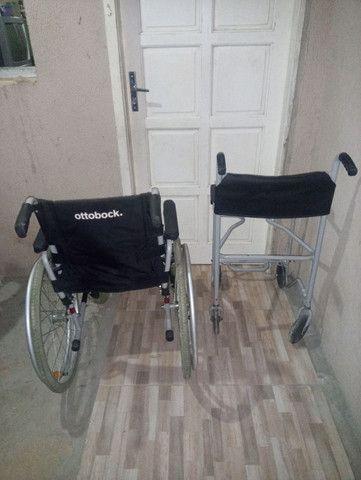 2 cadeiras de rodas novas 1000 mil reais