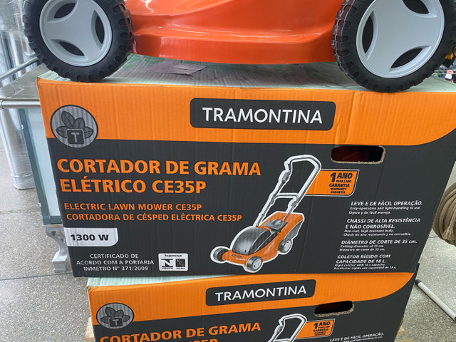 Cortador de grama Tramontina com coletor - Foto 3