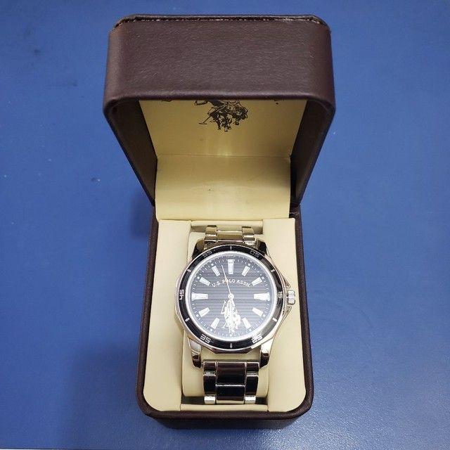 U.S. Polo Assn. Relógio analógico quartzo - Foto 2
