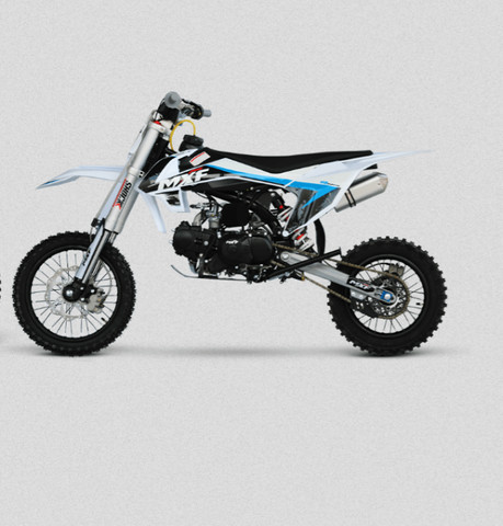 Mini Moto Cross Mxf Pro Racing 110cc Azul Modelo Lançamento 2021 - Foto 2