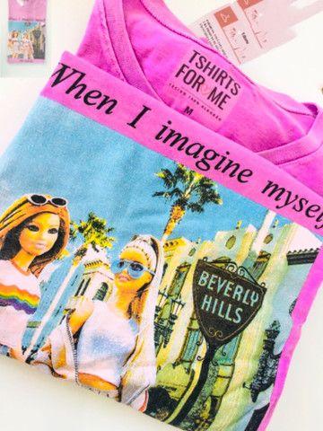 Blusa feminina camiseta T-shirt 100% Algodao - Foto 2