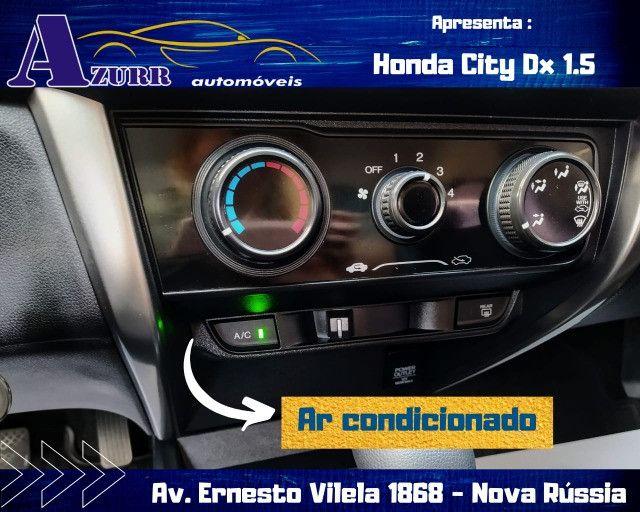 CITY AUTOMÁTICO CVT ÚNICO DONO PNEUS OKM PLACA A  IMPECÁVEL - Foto 8
