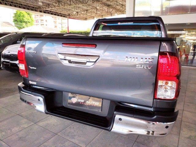 Toyota Hilux 2021  0Km SRV 2.7 4X4 Flex AT   - Foto 10