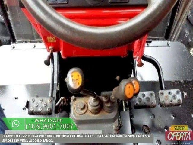 Trator Massey Ferguson 275 4x4 ano 05 - Foto 2
