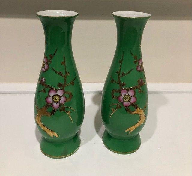 Par de vasos japonês