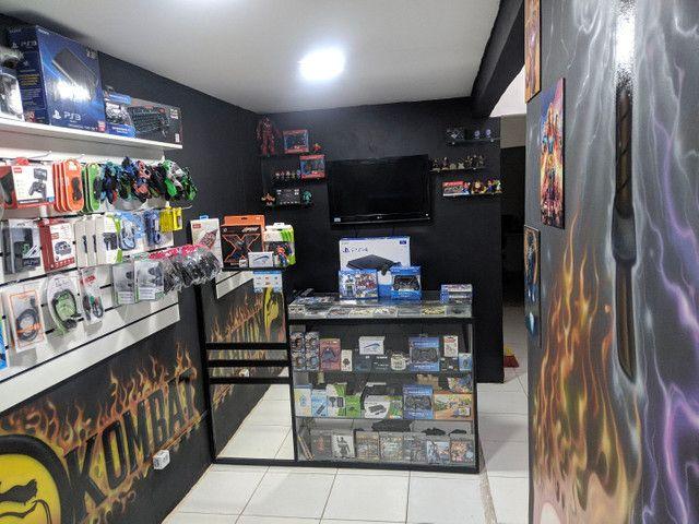 Playstation 2 Super Slim destravado + garantia+ benefício - Foto 3