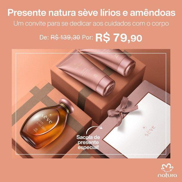 Promoções Presente Natura Sève Lírios e Amêndoas - Foto 2