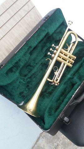 Trompete consert ct-440.em Do frab.japanesa quase Novo.