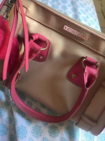 Bolsa da Victoria Secret, cor rosa!