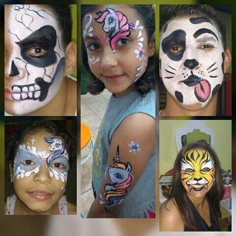 Pintura facial sorocaba