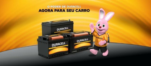 Melhor bateria do mercado, Duracell 60ah com 2 anos de garantia! - Foto 2