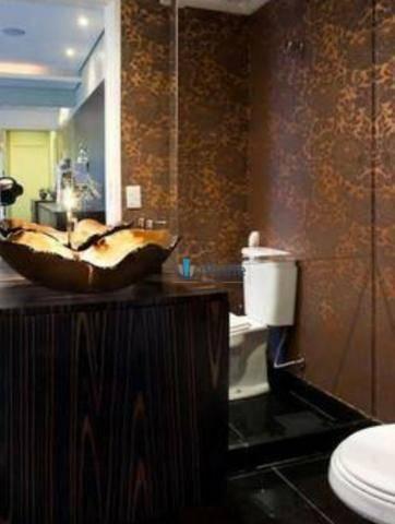 Apartamento de revista! cobertura duplex 300m² 3 vagas, varanda gourmet, lazer completo - Foto 7