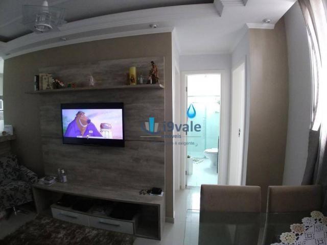 Apartamento com 2 dormitórios à venda, 54 m² por r$ 180.000 - villa branca - jacareí/sp - Foto 11