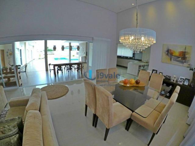 Linda casa térrea à venda, condomínio alto luxo mirante do vale, jacareí-sp - Foto 2