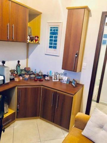Apartamento com 3 dormitórios sendo 1 suíte à venda, 70 m² - vila industrial - são josé do - Foto 9