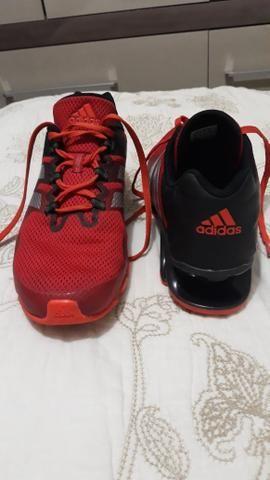 7682d88bbab68 Tênis adidas springblade e-force m vermelho/preto - Roupas e ...
