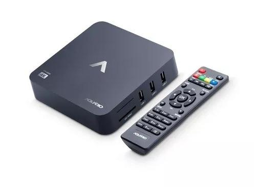 Smart TV Box 4K com 1 ano de Garantia