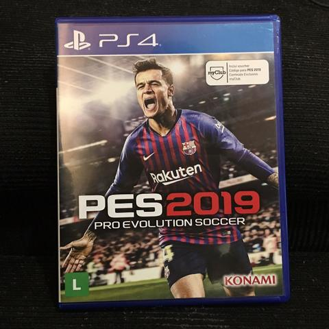 Jogo PS4 PES 2019 Pro Evolution Soccer