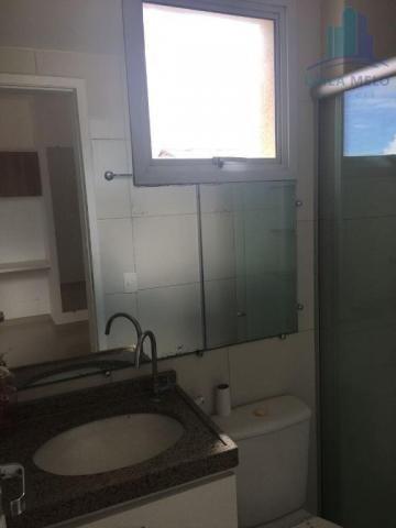 Apartamento villa bella mobiliado com 02 suítes; engenheiro luciano cavalcante, fortaleza - Foto 8