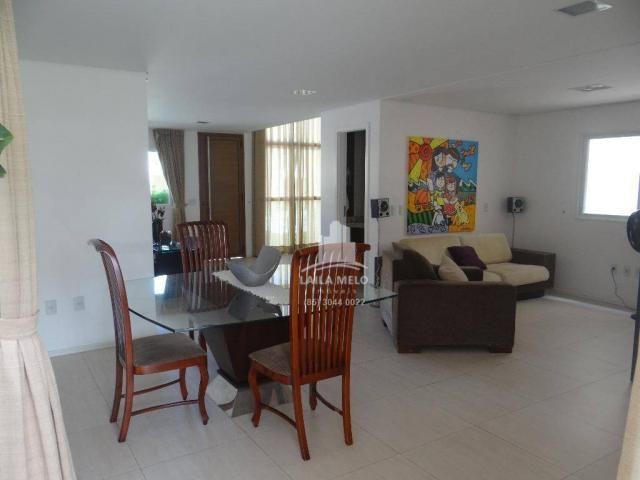 Casa dúplex em condomínio na lagoa redonda,190 m2, 4 quartos, lazer completo,fortaleza - Foto 5