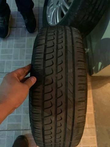 Vende se ou troca em 4 pneus 205/50/17 em bom estado - Foto 2