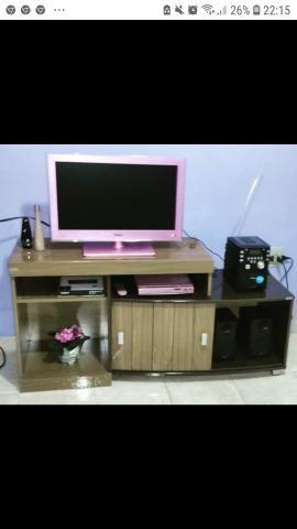 Televisão led rosa philco - Foto 5