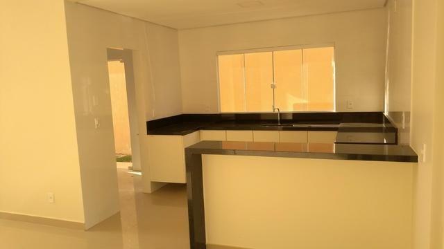 Samuel Pereira oferece: Casa Alto da Boa Vista Nova Moderna Escriturado 3 Suites Armários - Foto 9