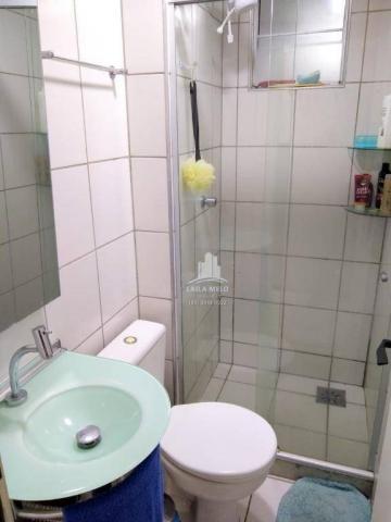 Apartamento com 3 dormitórios à venda, 53 m² próximo ao mega atacadista- cambeba - fortale - Foto 13
