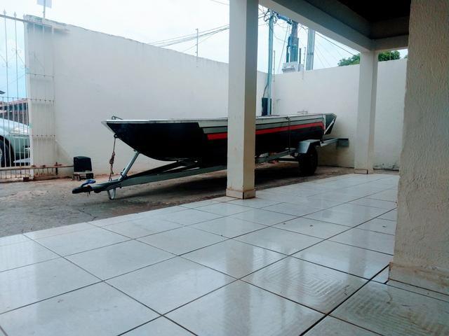 Barco com motor e carretinha - Foto 3