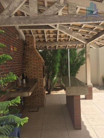 Apartamento villa bella mobiliado com 02 suítes; engenheiro luciano cavalcante, fortaleza - Foto 18