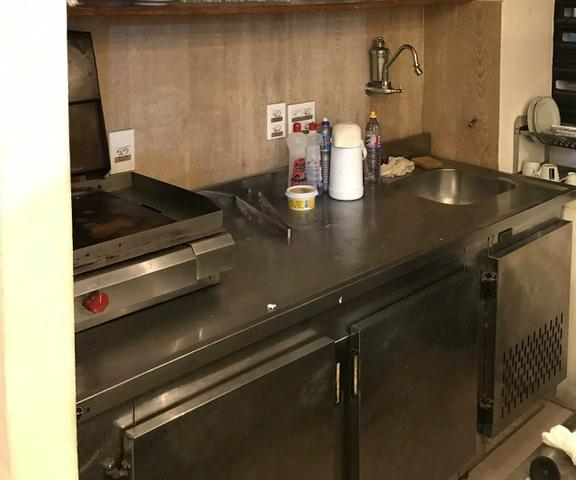 Balcão inox refrigerado com cuba de pia - Foto 4