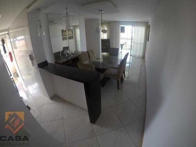 TS. Apartamento de 3 quartos/suíte, sol da manhã em Morada de Laranjeiras na Serra - Foto 4