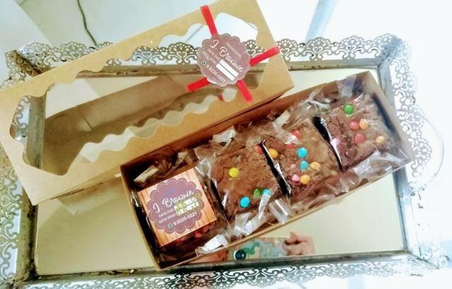 Presentei com Sabor - Brownies - Foto 3