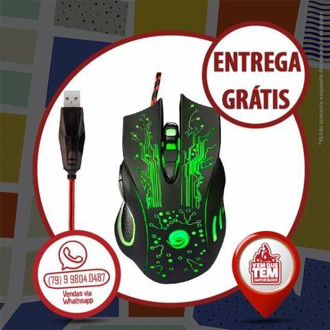 Mouse Game X9 2400 Dpi Usb Led