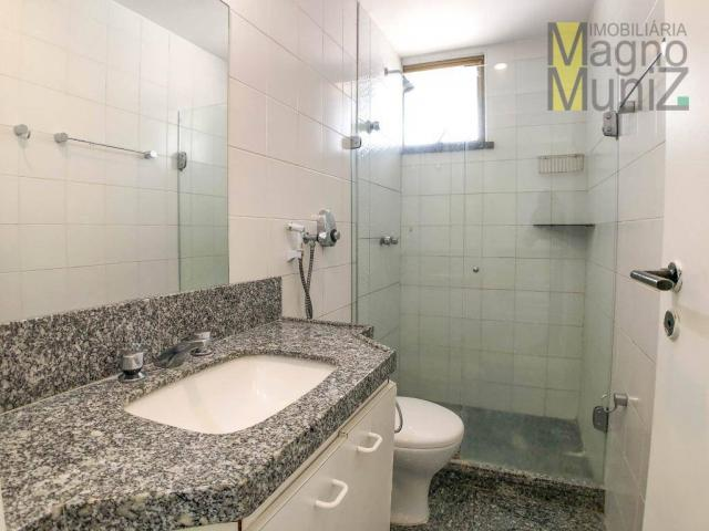 Apartamento com 4 suítes para alugar, 300 m² por r$ 2.500/ano - meireles - fortaleza/ce - Foto 15