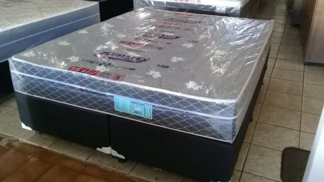 Cama queen size molas bonnel apenas 799 preço de fabrica - Foto 5