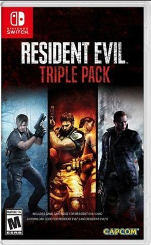 Resident evil triple pack midia física lacrado