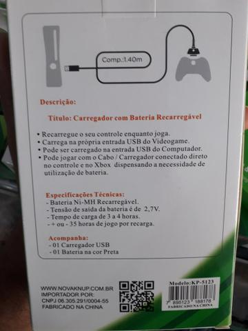 Carregador de controle Xbox - Foto 2