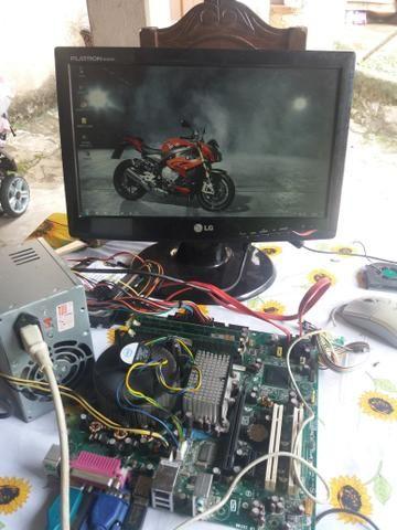 Kit pc Pentium D 4gb Ram + Notebook Leia A Descrição.!!! - Foto 4