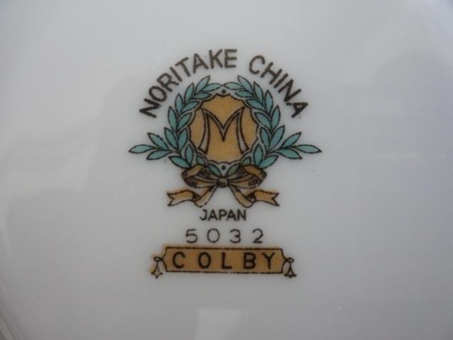 6 Pratos de Salada (Saucer Plates) Porcelana Chinesa Noritake 5032 Colby Blue - Foto 4