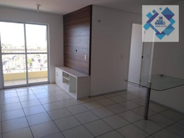Apartamento com 3 dormitórios à venda, 63 m² por R$ 260.000 - Parangaba - Fortaleza/CE - Foto 3