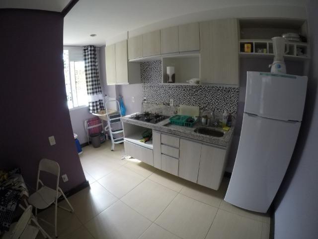 F - Apartamento 2 Qts térreo com Varanda / Praia da Baleia 117 mil - Foto 11