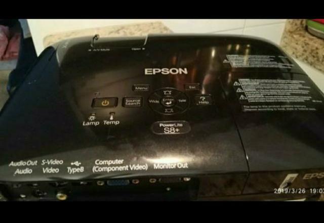 Projetor Epson s8 - Foto 5