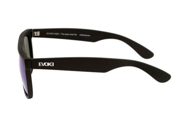 aa83dd12c Evoke Haze - Óculos de Sol Black Matte / Blue Espelhado ...