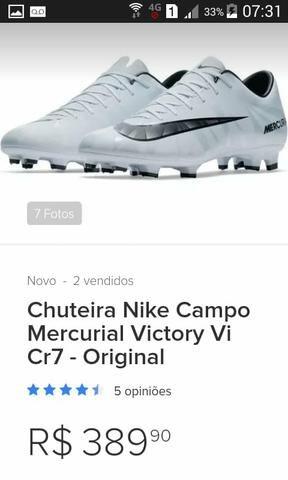 Chuteira Nike Campo Mercurial Victory Vi CR7 - Original - Esportes e ... b487eff9de7d5