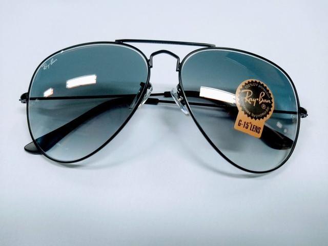 Óculos de Sol Ray Ban Aviador Clássico - novo - Bijouterias ... c23e484bf4cf2